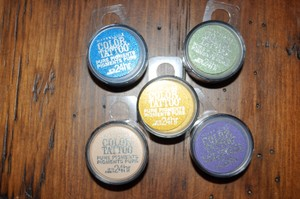Maybelline 5 New Color Tattoo 24 Hour Pure Pigments