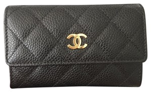 Chanel Card Case Wallet CC Caviar