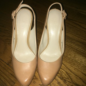 Nine West Tan/ nude Pumps