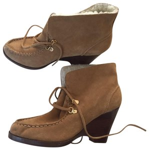 Michael Kors Ankle Suede Brown Boots