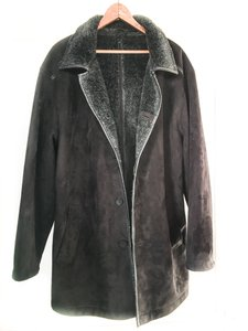 Balmain Men's Faux-shearling Coat