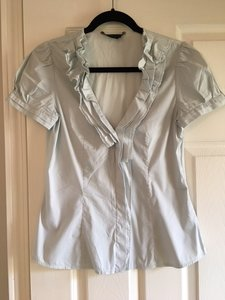 BCBGMAXAZRIA Top Baby Blue