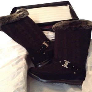Baby Phat Black & Silver Boots