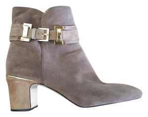 Joan & David Taupe Boots