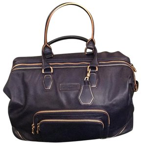 Longchamp Navy Blie Travel Bag