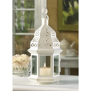 White Moroccan Style Lanterns (brand New)