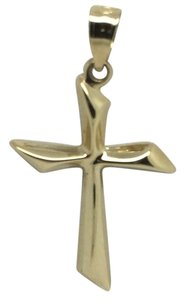 Other 14K Yellow Gold Reversible Cross Pendant
