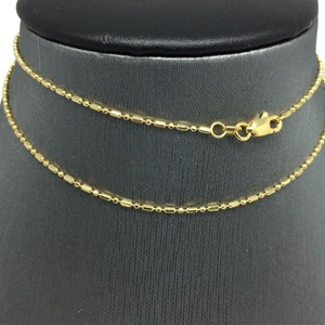 Other 14K Yellow Gold Mix Bead Chain ~1.10MM 18 Inches