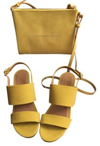 Old Navy Yellow Mules