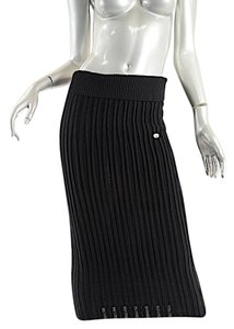 Chanel Maxi Maxi Skirt Black