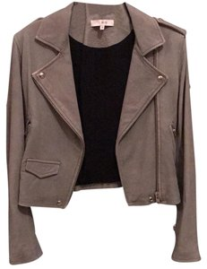 IRO Gray Leather Jacket