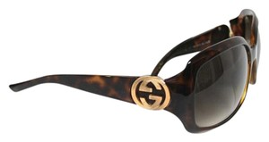 Gucci Gucci GG Brown Gradient Women's Oval Sunglasses
