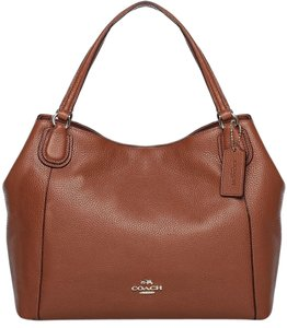 Coach Edie Crossbody Brown Shoulder Bag