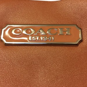 Coach Satchel in Peach