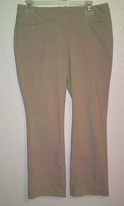 The Limited Ankle Collection Drew Fit Capri/Cropped Pants Beige