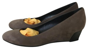 Tod's Suede NEW!Light Brown Wedges