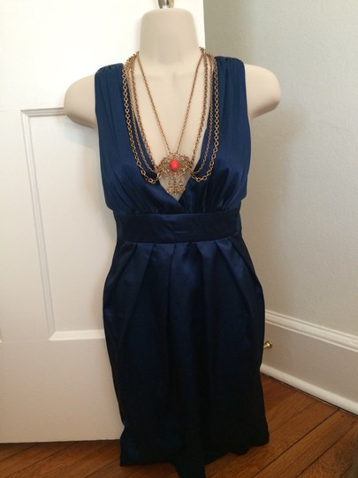 Other Antique Style Statement Necklace, Medallion & Draped Chain Design