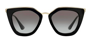 Prada PR 53SS 1AB0A7 Black with Gold Trim