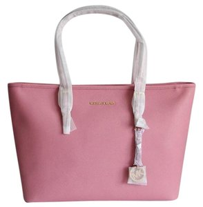 Michael Kors Jet Set Tote in Misty Rose