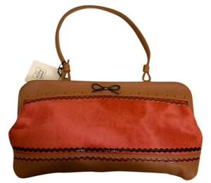 Jamin Puech Calf Hair Leather Bow Shoulder Bag