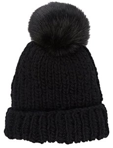 Barneys New York Barney's New York Pom-Pom Embellished Hat