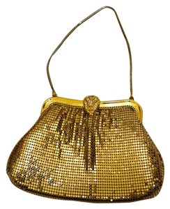 Other Mesh Vintage Flapper Gold Clutch