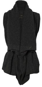 AllSaints All Wool Vest Wrap Sweater