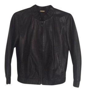 Rebecca Minkoff Leather Bomber Leather Jacket