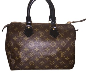 Louis Vuitton Lv France Satchel in Brown Monogram