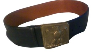 Polo Ralph Lauren Vintage POLO RALPH LAUREN RL-90 Leather Belt With Eagle Buckle