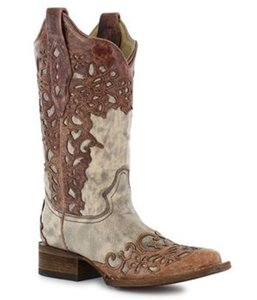 Corral Boots Corral Brown & Gray Boots