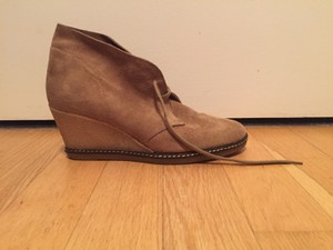 J.Crew MacAlister Wedge Boots MacAlister Wedge (Nut Color) Boots