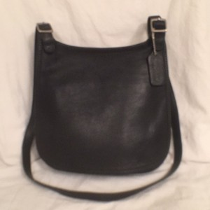 Coach Vintage Leather Saddlebag Messenger Cross Body Bag