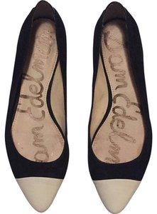 Sam Edelman Black and white Flats
