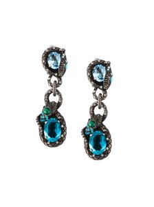 Lanvin Drop Clip-on Earrings