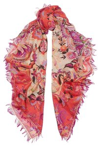 Etro Multicolored wool and silk-blend