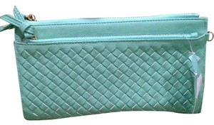 Urban Expressions Light Green Clutch