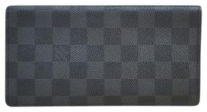 Louis Vuitton LOUIS VUITTON DAMIER GRAPHITE BRAZZA WALLET