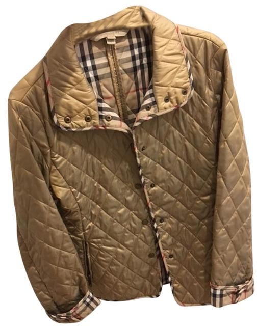 Item - Gold Quilted Jacket Size 4 (S)