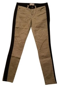 Dollhouse Straight Pants Khaki & black