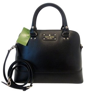 Kate Spade Rachelle Small Satchel in Black