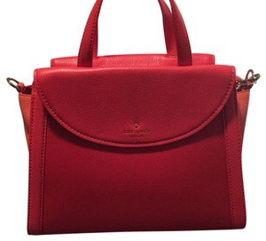 Kate Spade Satchel in Red, Coral
