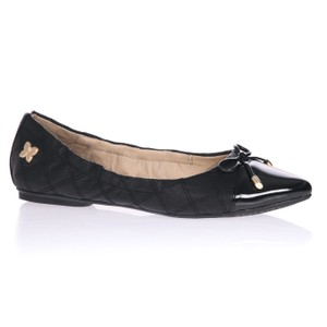 Butterfly Twist Ballerina Chic Stylish Pump Black Flats
