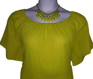 Vince Camuto Top Lime Green