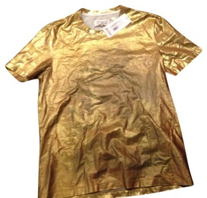 Maison Margiela T Shirt Gold