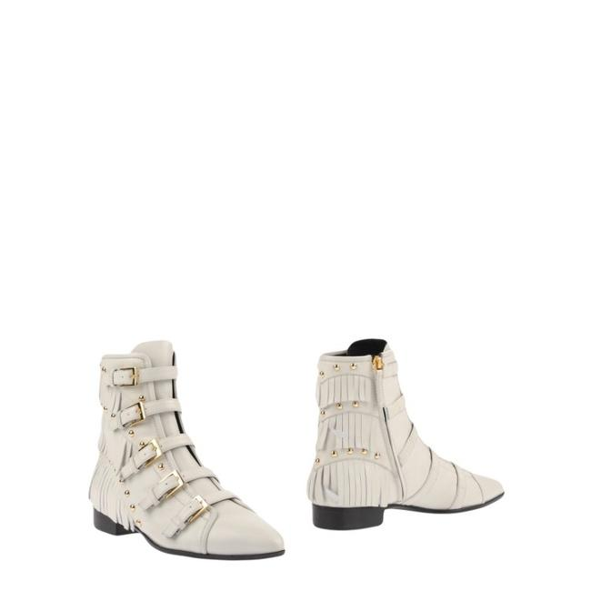 Item - White Boots/Booties Size EU 39 (Approx. US 9) Regular (M, B)
