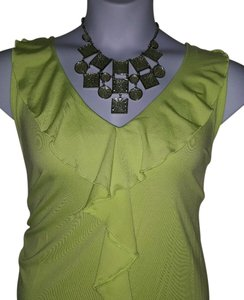 Peter Nygard Top Lime Green