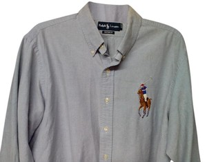 Polo Ralph Lauren Button Down Shirt Blue