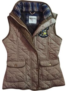 Massimo Dutti Quilted Chic Warm Fall Fitted Vest