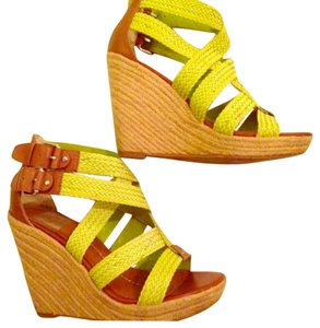 DV by Dolce Vita Yellow Stalla Wedges